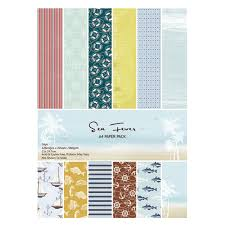 new acid free a4 sea fever anchor pattern paper pack decorative