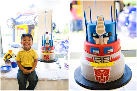 transformers cakes transformers birthday party pizzazzerie