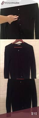 zara knit black cardigan size small classic cardigan with beautiful