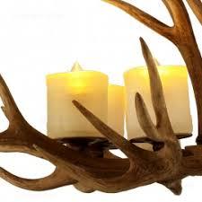antler 5 light 8 light rustic candelabra deer antler chandelier
