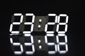 Minimalistic Wall Clock by Modern Digital Wall Clock Wall Clocks Decoration