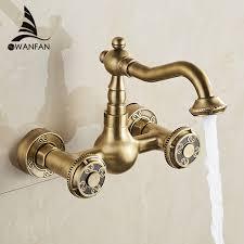 kitchen faucets bronze aliexpress buy basin faucets antique bronze brass bathroom