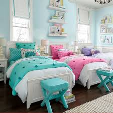 cute girls bedrooms studded x frame ottoman stool room girls and bedrooms
