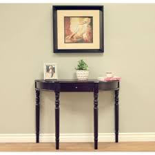 Dark Cherry Sofa Table by Homecraft Furniture Espresso Storage Console Table H 14 B The