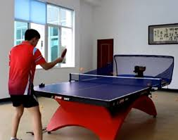 home ping pong table hp 07 ping pong table tennis robots ball machines automatic ball