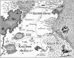 Book Map A Fantasy Reader New Map Salyards U0027 Veil Of The Deserters