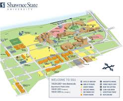Ohio State University Campus Map by Shawnee State University