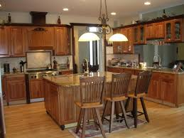 custom kitchen cabinetry granite tops tile backsplash wood