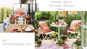 awesome small balcony design ideas outdoortheme com