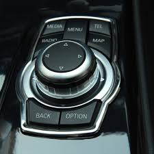 Bmw 316i Interior Interior Refit Multimedia Buttons Cover Car Accessories For Bmw X1