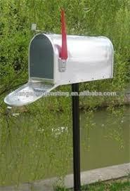 cassetta della posta americana americano moderno stile metallo casella di posta cassetta postale