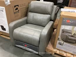Berkline Leather Reclining Sofa Living Room Costco Leather Reclining Sofa True Innovations