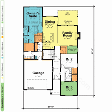 one room deep house plans one story floor plans beautiful e story floor plan 28 images