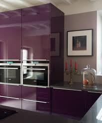meuble cuisine violet meuble cuisine prune