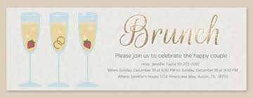 chagne brunch invitations post wedding brunch free online invitations