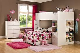 Girls Loft Bed With Desk Gray Twin Loft Bed With Desk Cozy Twin Loft Bed With Desk U2013 Twin