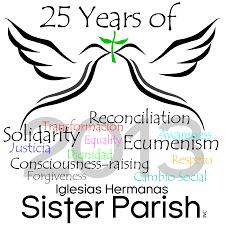 25th anniversary sisterparishinc