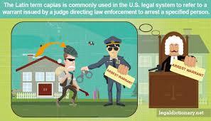 Arrest Warrant Vs Bench Warrant Capias Definition Examples Cases Processes
