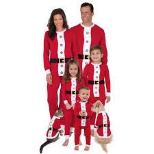 santa family pajamas sets pb and apple jelly