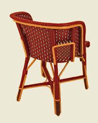 fauteuil dos fauteuil bourbon bordeaux noir blanc dos maison drucker