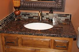 24 Bathroom Vanity With Granite Top by Tan Brown Granite Bathroom Traditional With Granite Countertops