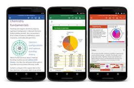 half android microsoft releases free office apps for half of all android phones