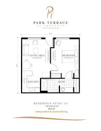 senior housing floor plans assisted living phoenix floor plans