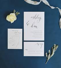 Calligraphy Wedding Invitations Custom Wedding Invitations Watercolour Calligraphy Invitations