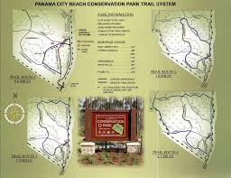 Map Of Panama City Beach Florida by Conservation Park 1 Png