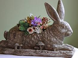 Garden Rabbits Decor 69 Best Bunny Images On Pinterest Rabbit Bunnies And Bunny