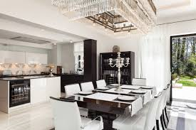 Modern Luxury Dining Table Modern Luxury Dining U0026 Kitchen Area Beth Ashton