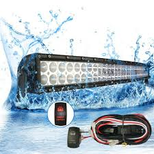 buy mictuning 52 u0026quot curved 288w cree led light bar combo spot