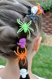 princess piggies halloween hairdos spider rings