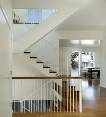 Staircase Floor Plan Banister Railing Ideas Staircase Transitional With Open Floor Plan