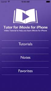 imovie app tutorial 2014 tutor for imovie for iphone on the app store