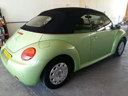 green volkswagen beetle volkswagen beetle convertible 2003