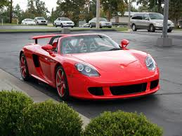 porsche dark red 2005 porsche carrera gt