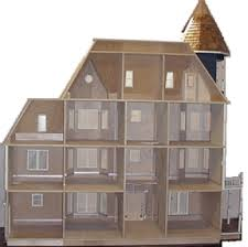Free Miniature Dollhouse Plans by Glencliff Plan Miniature Dollhouses U0026 Doll House Supplies