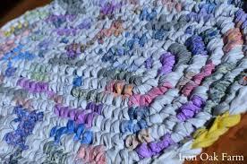 Crochet A Rag Rug Crochet Rag Rug Iron Oak Farm Blog Grit Magazine