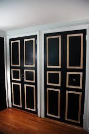 6 Panel Bifold Closet Doors 40 Ways To Update Flat Doors And Bifold Doors Remodelaholic