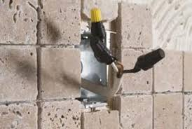 how to cut tiles and install a tile backsplash home guides sf gate