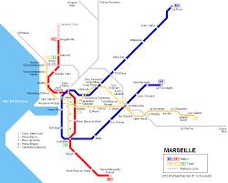 marseilles map urbanrail europe métro de marseille