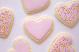 heart shaped cookies heart shaped sugar cookies mon petit four