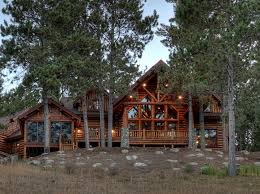 log cabin outdoor lighting design log cabin exterior rustic with outdoor living lake home log home