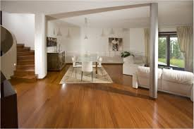 Living Room With Laminate Flooring Interior Design Ideas Laminate Flooring White Dinning Set Plus