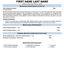 Electrician Resume Sample by Master Carpenter Cover Letter
