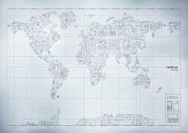 2007 World Map by Nokia E90 Communicator