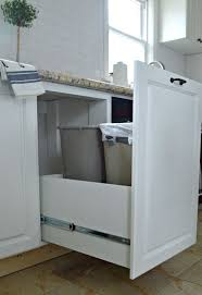 kitchen bin ideas delectable 30 kitchen recycling bins for cabinets inspiration of