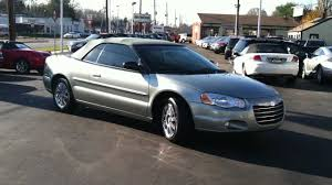 gallery of chrysler sebring 27 limited convertible