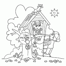 cool summer coloring page for kids seasons coloring pages